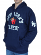 "New York Yankees Mitchell & Ness MLB ""Batting"" Pullover Hooded Sweatshirt"