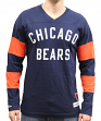 "Chicago Bears Mitchell & Ness NFL ""Field Goal"" Men's Heavyweight L/S Shirt"