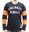 "Cincinnati Bengals Mitchell & Ness NFL ""Field Goal"" Men's Heavyweight L/S Shirt"