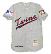 Harmon Killebrew Minnesota Twins Mitchell & Ness Auth 1969 Jersey - Gray, S/36