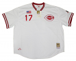 Chris Sabo Cincinnati Reds Mitchell & Ness MLB Authentic 1990 Jersey - 5XL/64