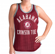"Alabama Crimson Tide Women's G-III NCAA ""Comeback"" Jersey Mesh Tank Top"