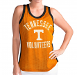 "Tennessee Volunteers Women's G-III NCAA ""Comeback"" Jersey Mesh Tank Top"