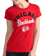 "Chicago Blackhawks Women's G-III NHL ""Tailgate"" Crew Neck Slub T-shirt"