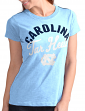 "North Carolina Tarheels Women's G-III NCAA ""Tailgate"" Crew Neck Slub T-shirt"