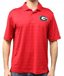 "Georgia Bulldogs NCAA Champion ""Trophy"" Men's Textured Polo Shirt"