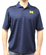 "Michigan Wolverines NCAA Champion ""Trophy"" Men's Textured Polo Shirt"