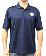 "Notre Dame Fighting Irish NCAA Champion ""Trophy"" Men's Textured Polo Shirt"