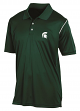 "Michigan State Spartans Champion NCAA ""Playclock"" Performance Polo Shirt"