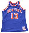 Mark Jackson New York Knicks Mitchell & Ness Authentic 1991-92 Blue NBA Jersey