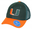 "Miami Hurricanes NCAA Top of the World ""Series"" Adjustable Mesh Back Hat"