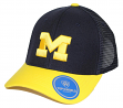 "Michigan Wolverines NCAA Top of the World ""Series"" Adjustable Mesh Back Hat"