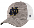 "Notre Dame Fighting Irish Top of the World ""Warm Up"" Adjustable Mesh Back Hat"