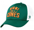 "Miami Hurricanes NCAA Top of the World ""Trainer"" Adjustable Mesh Back Hat"