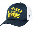 "Michigan Wolverines NCAA Top of the World ""Trainer"" Adjustable Mesh Back Hat"