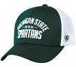 "Michigan State Spartans NCAA Top of the World ""Trainer"" Adjustable Mesh Back Hat"