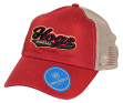 "Arkansas Razorbacks NCAA Top of the World ""Club"" Adjustable Mesh Back Hat"