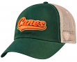 "Miami Hurricanes NCAA Top of the World ""Club"" Adjustable Mesh Back Hat"