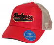 """Wisconsin Badgers NCAA Top of the World """"Club"""" Adjustable Mesh Back Hat"""