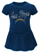 "San Diego Chargers NFL ""Dazzled"" Infant Girls Bodysuit Dress"