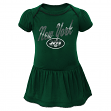 "New York Jets NFL ""Dazzled"" Infant Girls Bodysuit Dress"
