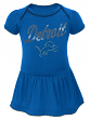"Detroit Lions NFL ""Dazzled"" Infant Girls Bodysuit Dress"