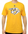 Mike Fisher Nashville Predators Adidas NHL Men's Gold Player T-Shirt