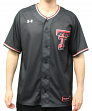 Texas Tech Red Raiders Under Armour NCAA Men's Baseball Jersey - Black