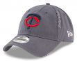 "Minnesota Twins New Era 9Twenty MLB ""Rip Right"" Adjustable Hat"