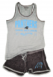 "Carolina Panthers Women's NFL ""Good Deed"" Dual Blend Tank & Short Sleep Set"