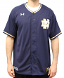 Notre Dame Fighting Irish Under Armour NCAA Men's Baseball Jersey - Navy