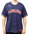 Auburn Tigers Under Armour NCAA Men's Baseball Jersey - Navy