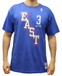Allen Iverson 2004 All-Star East Mitchell & Ness NBA Men's Blue T-Shirt
