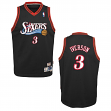 Allen Iverson Philadelphia 76ers NBA Youth Throwback Swingman Jersey - Black