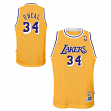 Shaquille O'Neal Los Angeles Lakers NBA Youth Throwback Swingman Jersey - Gold