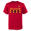 "Team Belgium World Cup Soccer Federation ""One Team"" Men's T-Shirt"