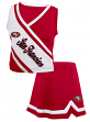 San Francisco 49ers NFL Toddler Girls Cheerleader 2 Piece Set