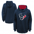 "Houston Texans Youth NFL ""Mach"" Pullover Hooded Performance Sweatshirt"
