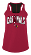"Arizona Cardinals Women's New Era NFL ""Kickoff"" Racerback Tank Top Shirt"