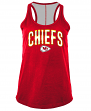 "Kansas City Chiefs Women's New Era NFL ""Kickoff"" Racerback Tank Top Shirt"