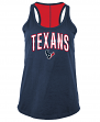 "Houston Texans Women's New Era NFL ""Kickoff"" Racerback Tank Top Shirt"