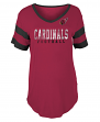 "Arizona Cardinals Women's New Era NFL ""Touchdown"" Dual Blend S/S Shirt"