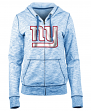 "New York Giants Women's New Era NFL ""Defense"" Space Dye Hooded Sweatshirt"