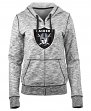"Oakland Raiders Women's New Era NFL ""Defense"" Space Dye Hooded Sweatshirt"
