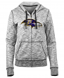 "Baltimore Ravens Women's New Era NFL ""Defense"" Space Dye Hooded Sweatshirt"