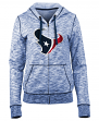 "Houston Texans Women's New Era NFL ""Defense"" Space Dye Hooded Sweatshirt"