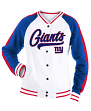 "New York Giants Women's New Era NFL ""Gameday"" French Terry Varsity Jacket"