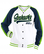 "Seattle Seahawks Women's New Era NFL ""Gameday"" French Terry Varsity Jacket"
