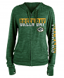 "Green Bay Packers Women's New Era NFL ""Fumble"" Space Dye Hooded Sweatshirt"