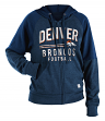 "Denver Broncos Women's New Era NFL ""TD Play"" Tri-Blend Hooded Sweatshirt"